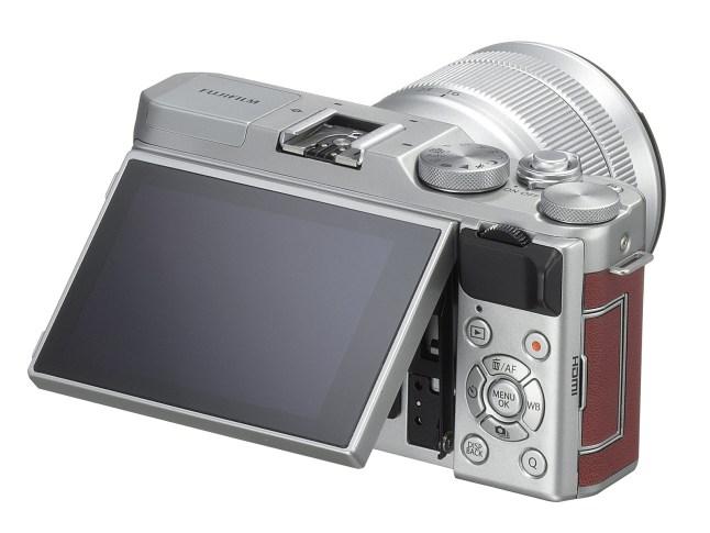 Fujifilm X-A3 - Back