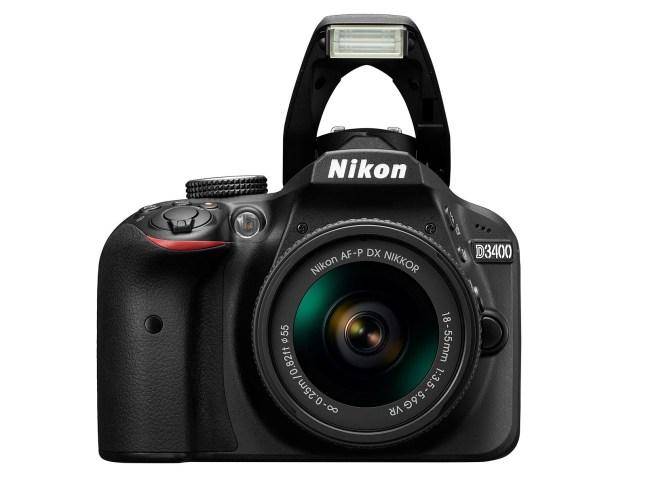 Nikon D3400 - front