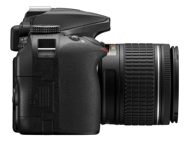 Nikon D3400 - side (card)