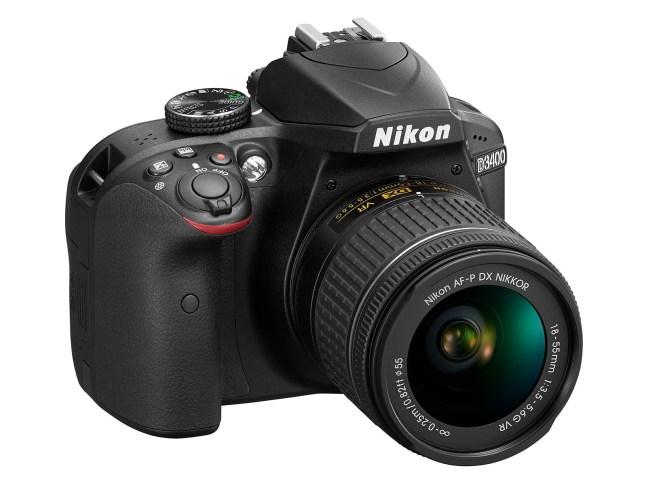 Nikon D3400- side view