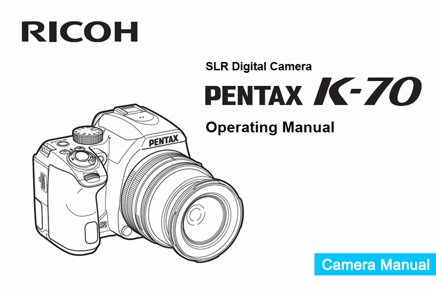 Pentax K-70 Instruction or User's Manual Available for