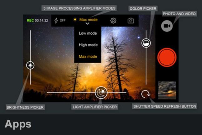 Long exposure camera