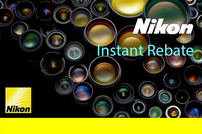 Nikon Instant rebate