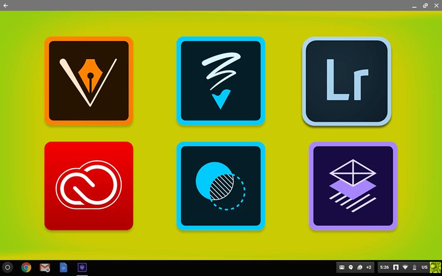Adobe for Chromebooks