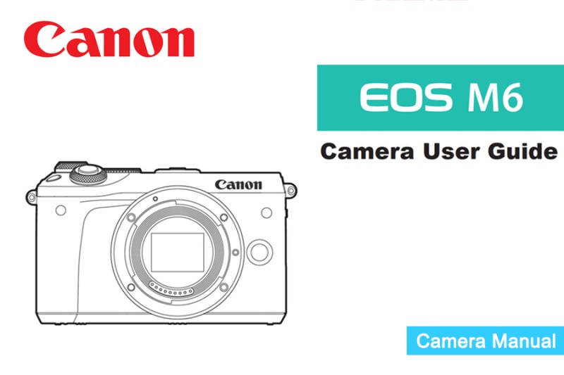 Canon EOS M6 Manual pdf