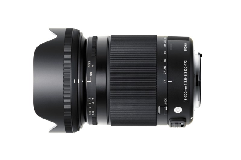Sigma 18-300mm f3.5-6.3 DC MACRO OS HSM Contemporary Lens