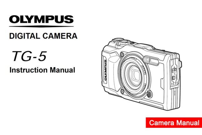 Olympus-Stylus-Tough-TG-5 Manual PDF Download