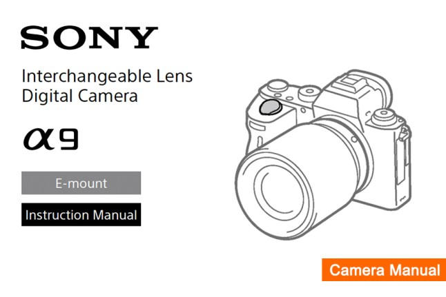 Sony Alpha 9 User's Manual