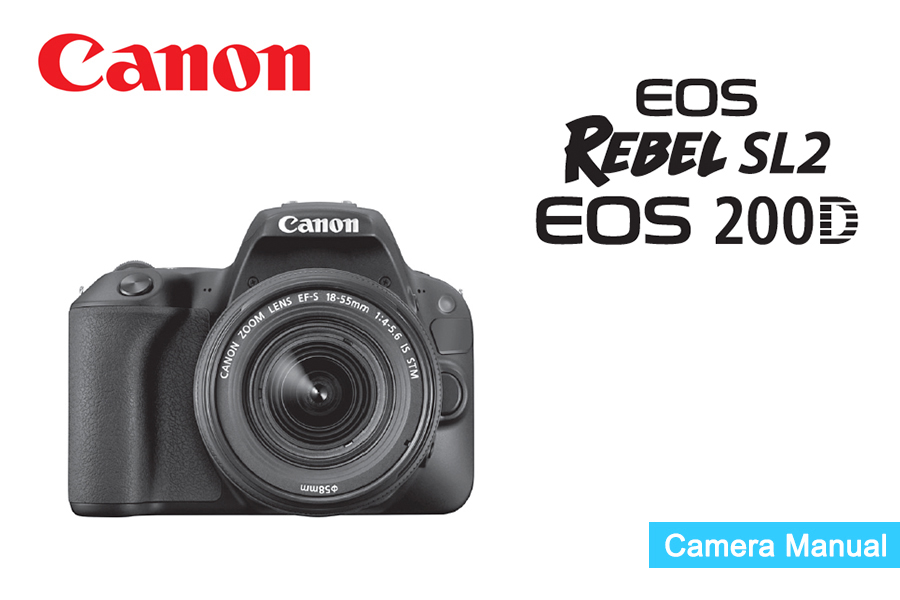 Canon User Manual Daily Instruction Manual Guides