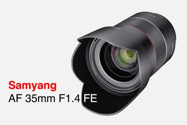 Samyang AF 35mm F1.4 FE