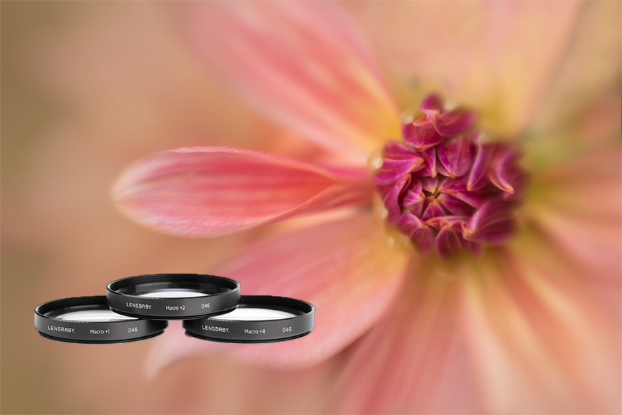 Lensbaby 46mm Macro Close-Up Filter Kit