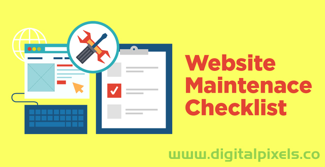 wordpress website Maintenance Checklist