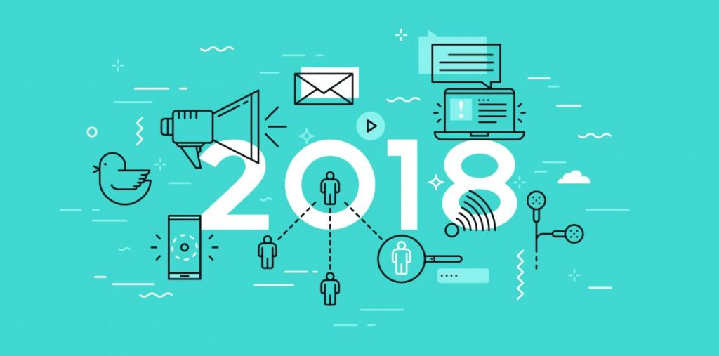 Digital Marketing and Social Media Trends for 2018