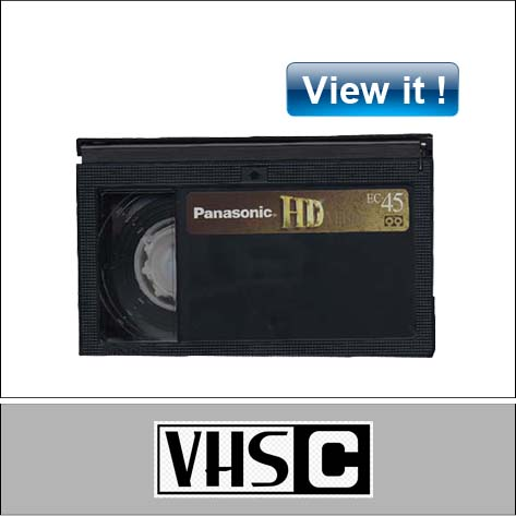 EC-45 video tape conversion