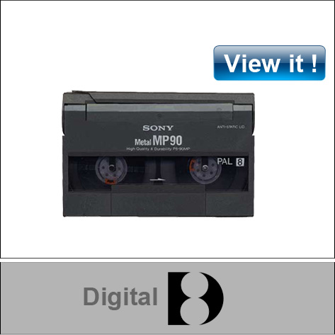 digital 8 video tape conversion