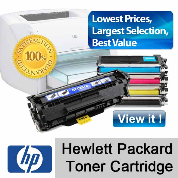 HP toner cartridge refill