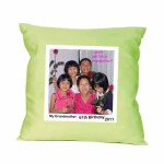 high quality materials green color pillow case