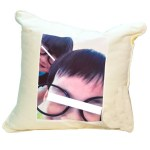 high quality materials white color bigger size pillow case