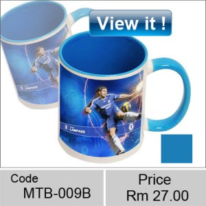 color blue mug