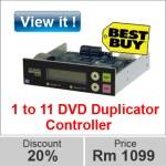 image 1 to 11 dvd duplicator controller