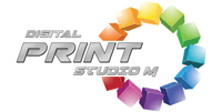 DIGITAL PRINT STUDIO M Logo