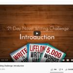 21 day novel challenge