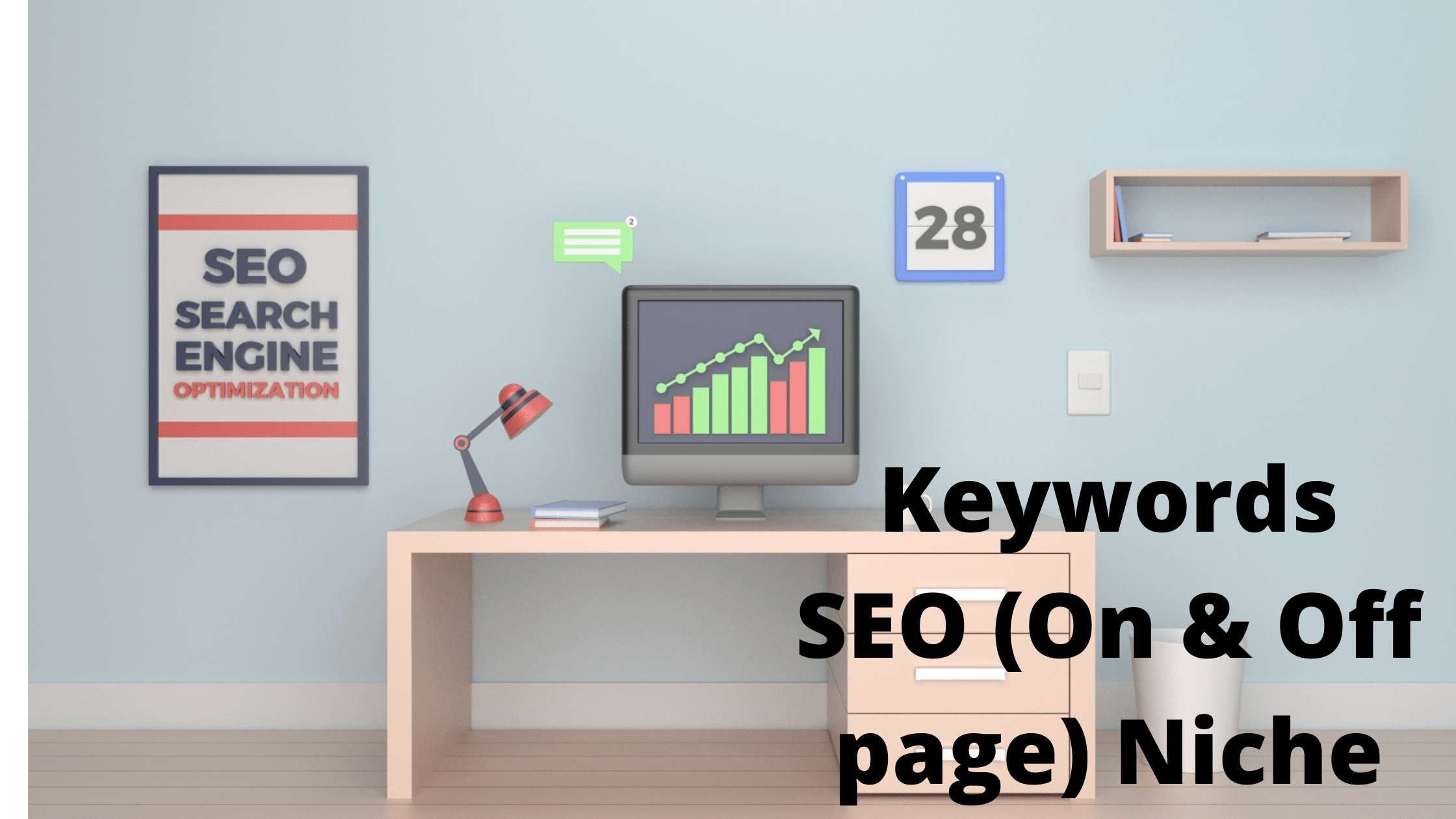 Keywords SEO (On & Off-page) Niche