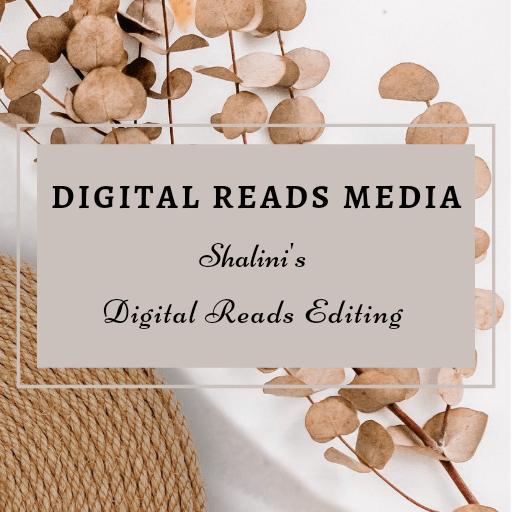 Digital Reads Editing