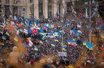 Proteste auf dem Maiden in Kiew