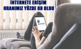 Türkiye'nin internete erişim oranı
