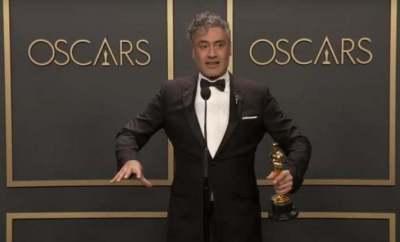 Oscar kazanan yazar/yönetmen Taiki Waititi MacBook klavyesi konusunda dertli