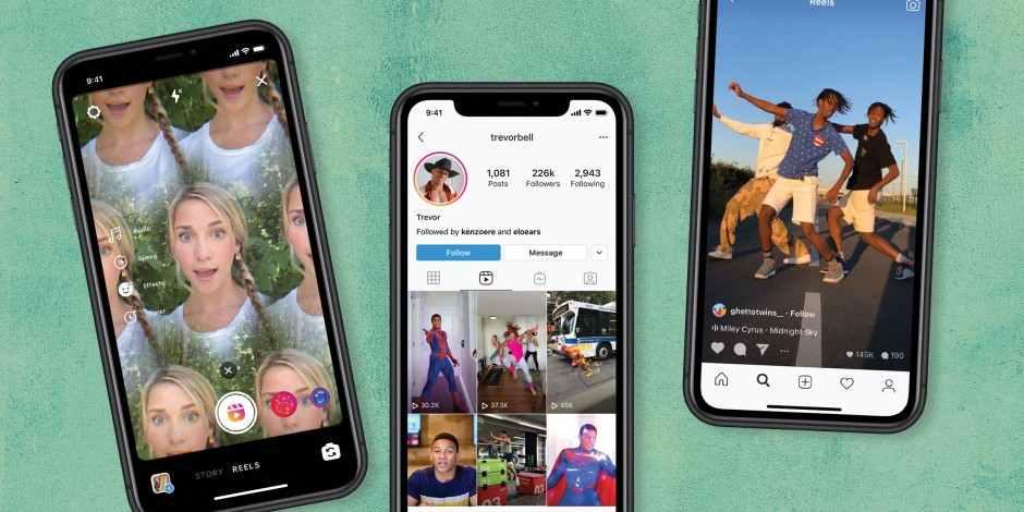 Pandeminin en hızlı büyüyeni TikTok mu yeni rakibi Instagram Reels mi: Pazarlama ve reklam için aranan kan bulunmuş olabilir.