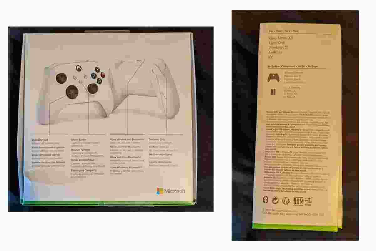 Microsoft Xbox Series S oyun kontrolcüsü sızdırıldı