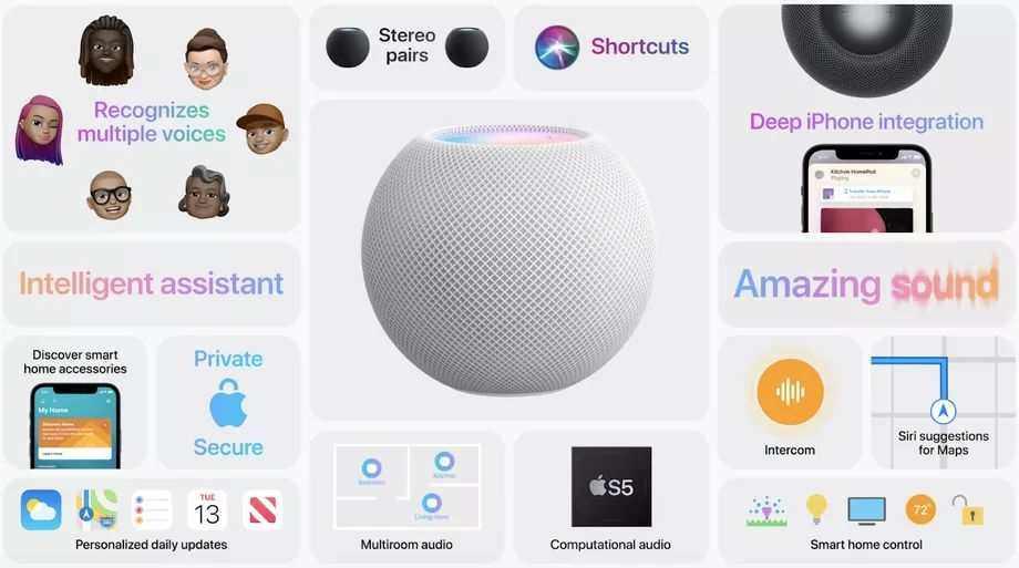 Apple HomePod mini tanıtıldı: Fiyatı, çıkış tarihi ve özellikleri