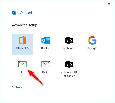 Outlook'ta POP3 ve IMAP e-posta hesabı nasıl kurulur?
