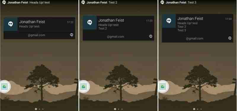 Kayan bildirimlerin mobil ekranda görünmesi nasıl etkinleştirilir veya devre dışı bırakılır?