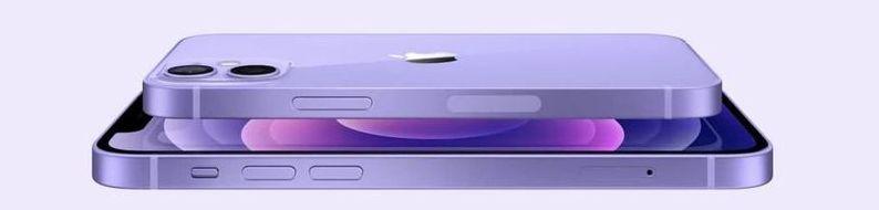 Apple, mor renkli yeni bir iPhone 12'yi duyurdu
