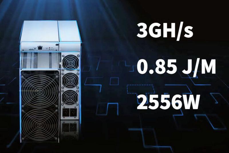 Bitmain Antminer E9 Ethereum madencisi, 32 NVIDIA RTX 3080s'ye eşdeğer güce sahiptir