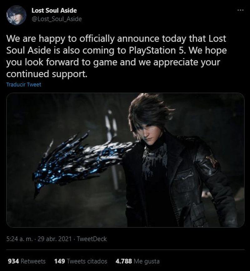 Lost Soul Aside, PlayStation 5 sürümünü doğruladı