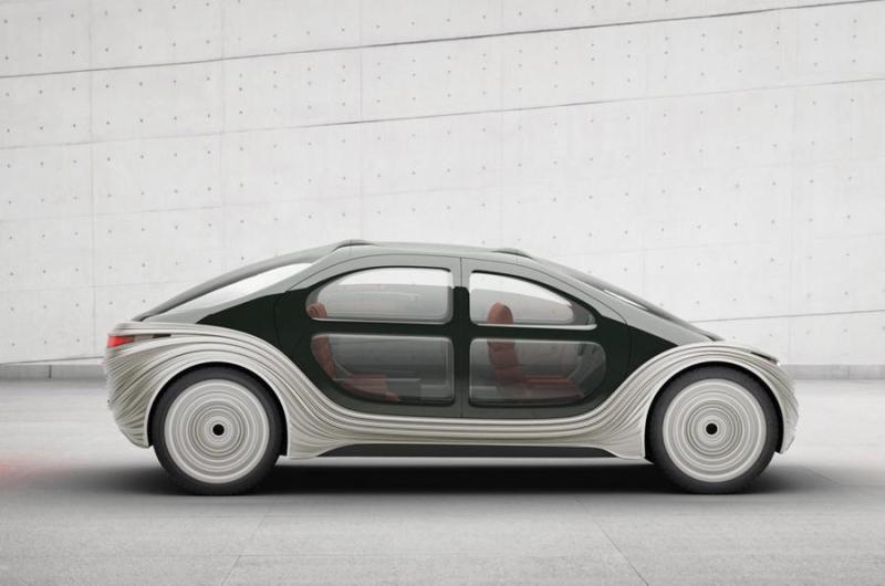 Heatherwick Studio'nun kirlilik karşıtı ve otonom elektrikli arabası Airo çok ilginç görünüyor