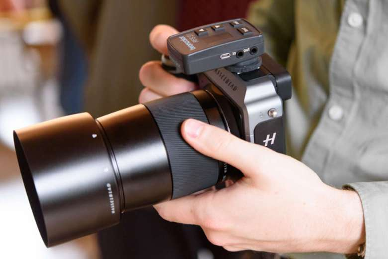 The Hasselblad X1D is remarkably compact and lightweight for a medium-format model