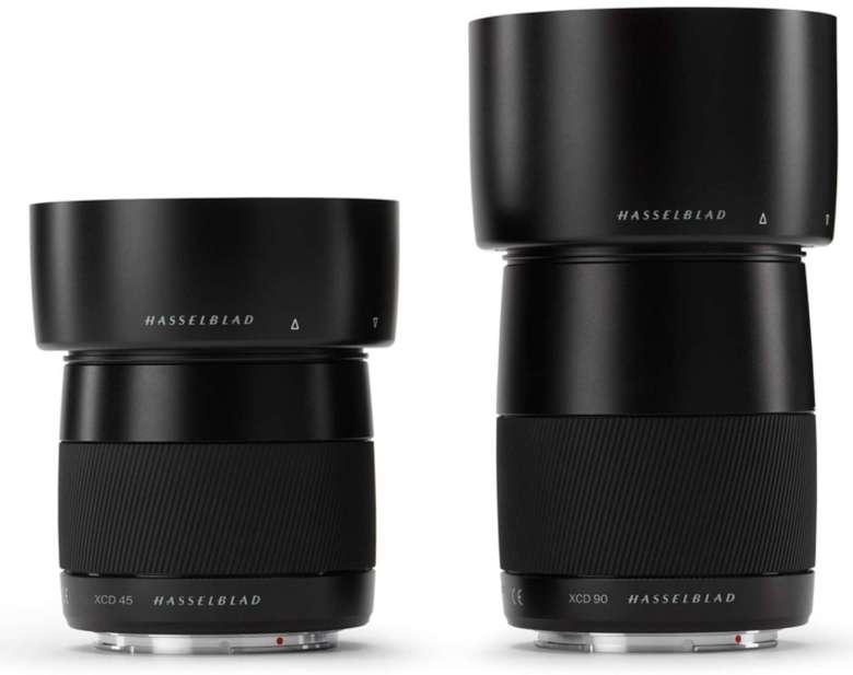 Hasselblad lenses designed for the X1D camera have leaf shutters, which allow them to offer fast flash-sync speeds