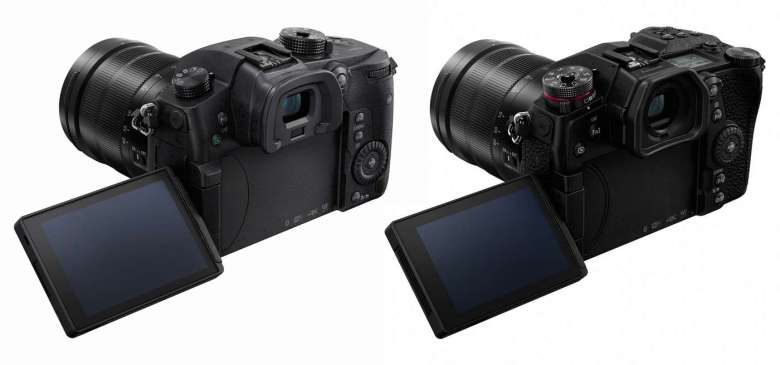 Both cameras offer vari-angle screens; perfect for capturing that high-quality 4K video.