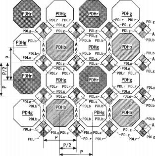Nikon-honeycomb-sensor-patent