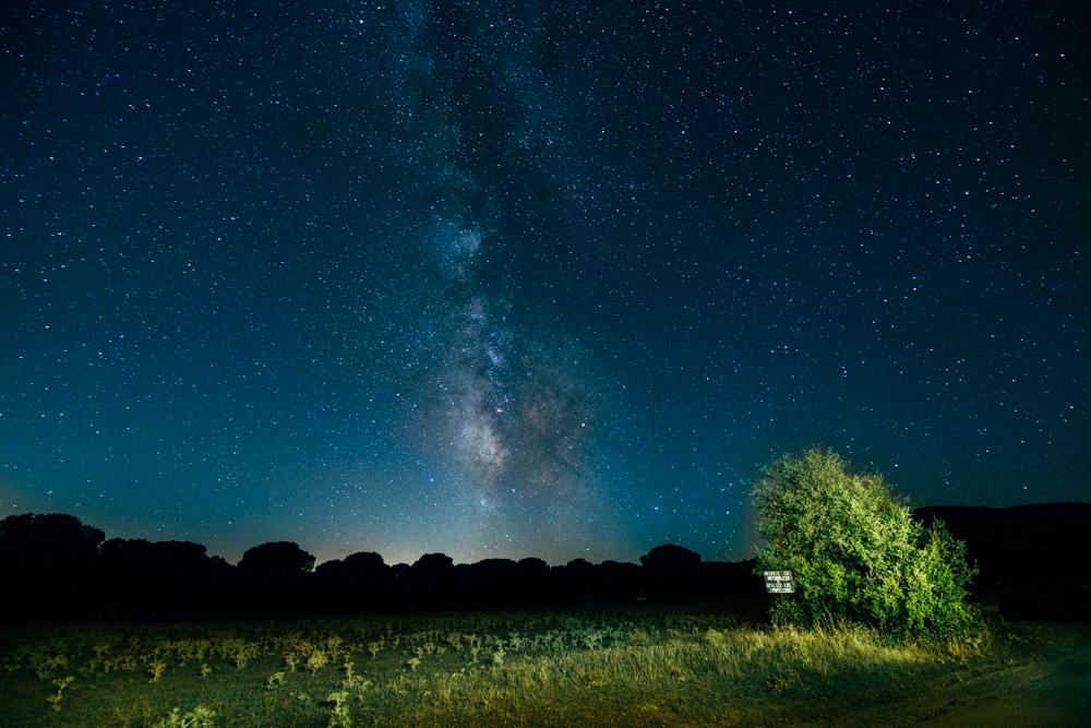 Fotografía de estrellas Pentax K1 Toledo