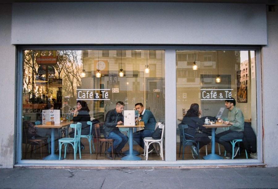 Fotografía de calle en Madrid tomada por David López