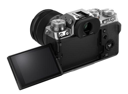 Vista trasera Fujifilm X-T4