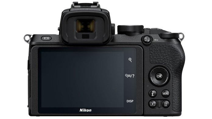 Nikon Z50 parte trasera