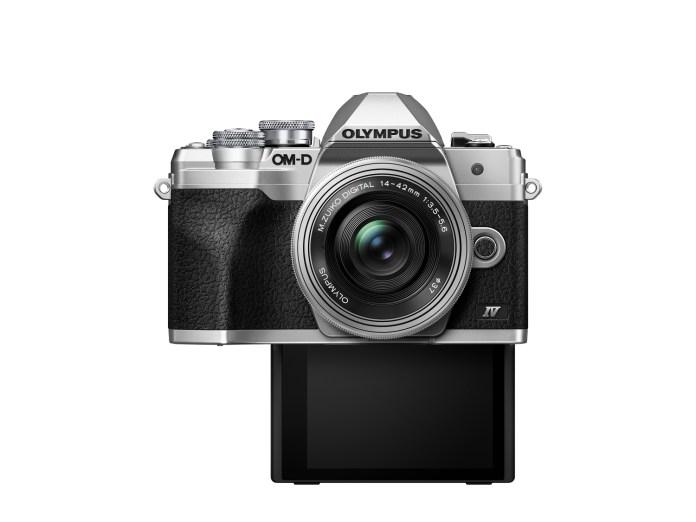 Olympus M10IV modo selfie