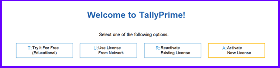 TallyPrime Download and Installation